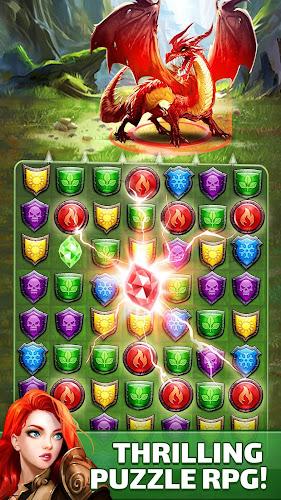 Empires & Puzzles: RPG Quest Android App Screenshot