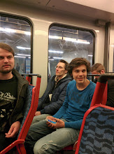 Photo: The last subway back to the camping, joined by some Germans and Italians