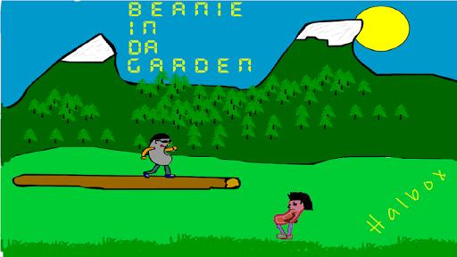 Beanie in da garden freeware