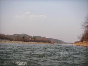 Photo: ostatnie falowania prtzed jeziorem