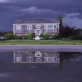 by Harold Stoler - Landscapes Weather ( travel photography, reflections, weather, building )