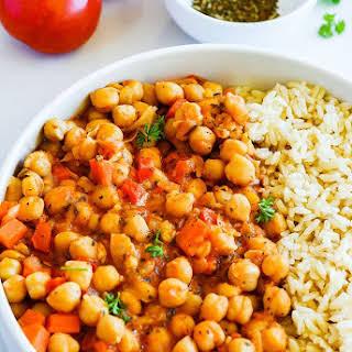 Chickpea Stew (Vegan, Gluten-free).