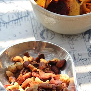 Spicy Bacon Nuts