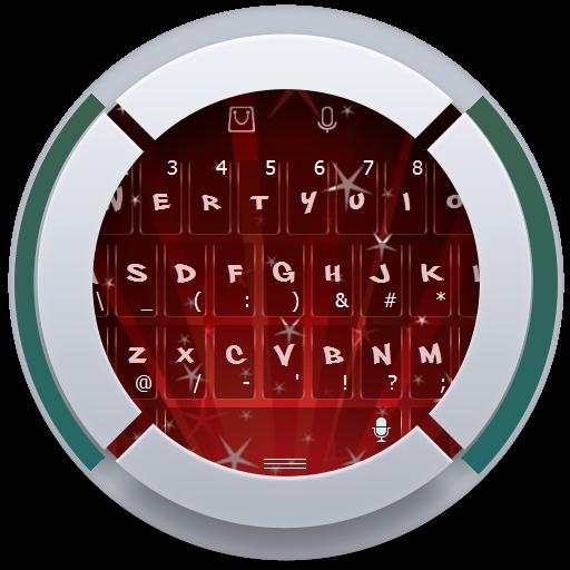 クリスマスグリッター TouchPal Theme 個人化 LOGO-玩APPs