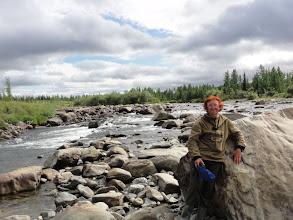 Photo: Это не река, а скалодром!