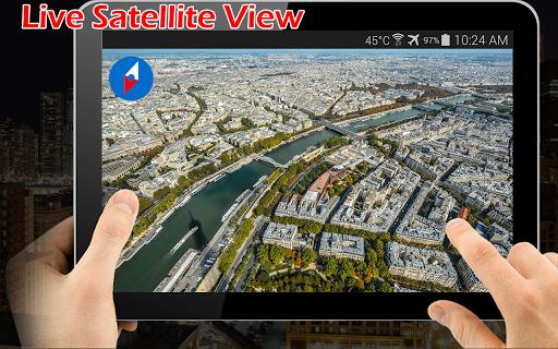 Earth Map Live GPS: Street View Navigation Transit 1.2.9 screenshots 3