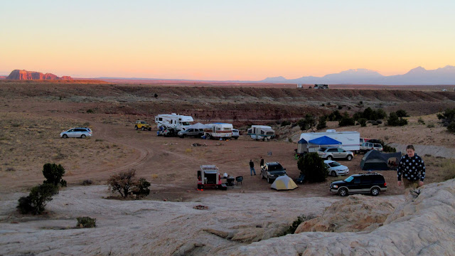 Camp on Friday after sunset