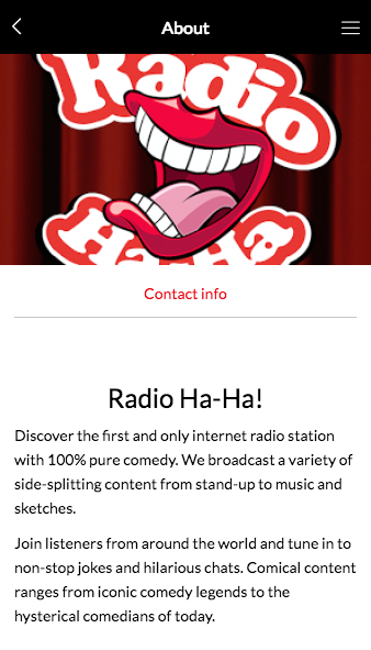 Radio Ha-Ha!- screenshot