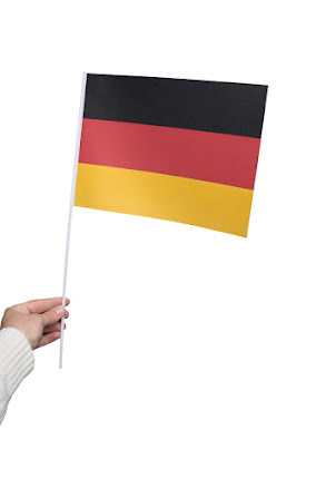 Pappersflaggor, Tyskland