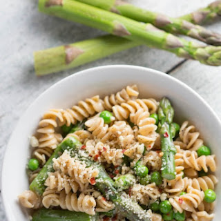 Spring Time Pasta with Asparagus and Peas Recipe