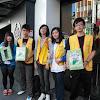 國際商務系「把愛傳出去」街頭募集發票活動