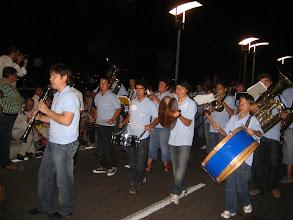 Photo: Mahon'da festival.  Sokak bandosu.  Festival in Mahon. Street Band.