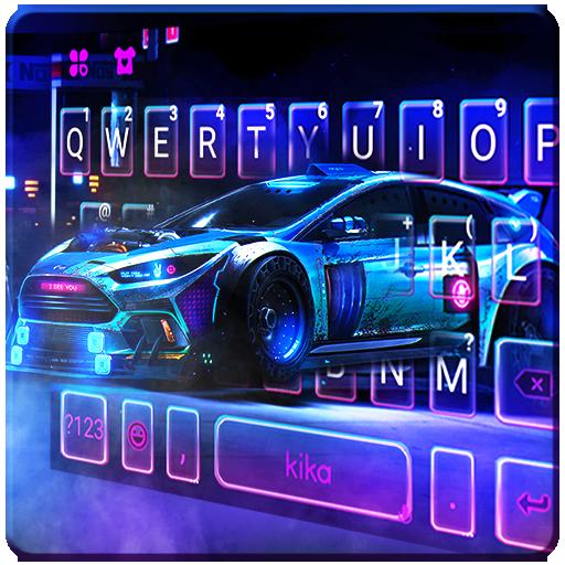 Racing Sports Car Keyboard Theme Icon
