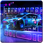 Free Download Racing Sports Car Keyboard Theme APK for Samsung