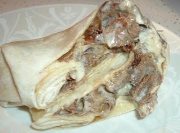 Easy Cheesey Steak Um Roll Recipe