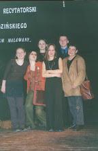 Photo: Konkurs recytatorski im. Brodzińskiego, 03.2002 r. prof. Z.Tabaszewska, A.Hołyst, M.Kot, P.Krupa, I.Pipczyńska, A.Jasnos