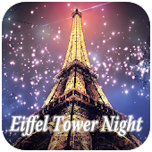 Eiffel Tower Night Keyboard