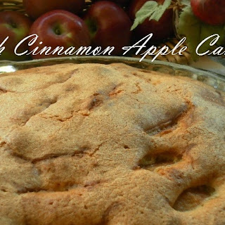 Swedish Cinnamon Apple Cake