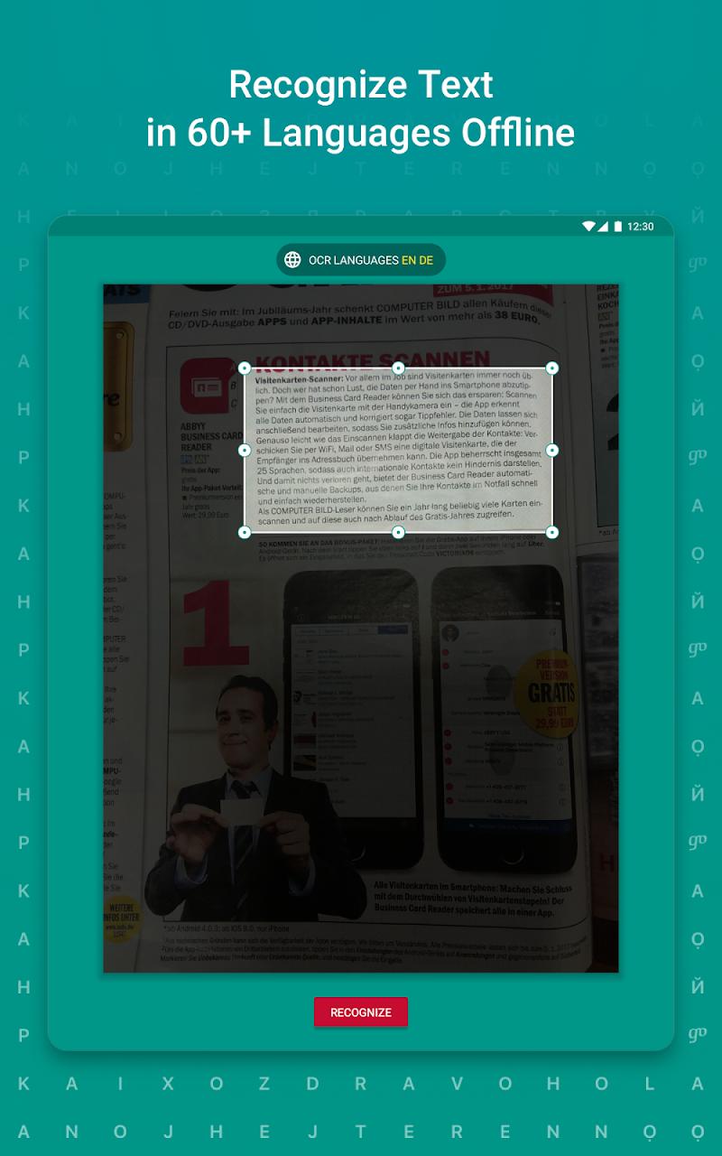 TextGrabber – image to text: OCR & translate photo Screenshot 15
