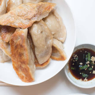 Vegan Pork Dumplings (with Quinoa).
