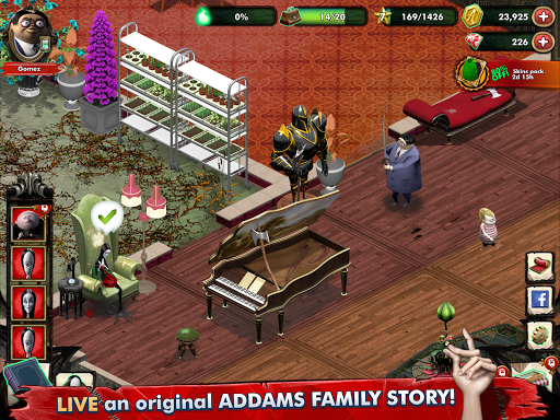 Addams Family: Mystery Mansion - The Horror House! filehippodl screenshot 6