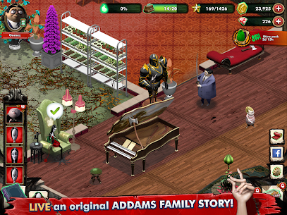 Addams Family: Mystery Mansion – The Horror House! Apk Download For Android and Iphone 6