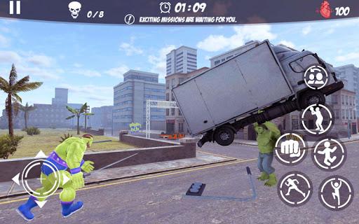 Superhero Justice City: Grand League Strike 2.0 {cheat|hack|gameplay|apk mod|resources generator} 5
