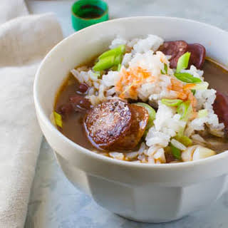 Red Bean and Sausage Soup.