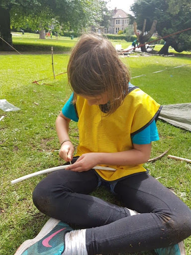 My day at The Outdoors Project by Amelia Mostyn, age 10