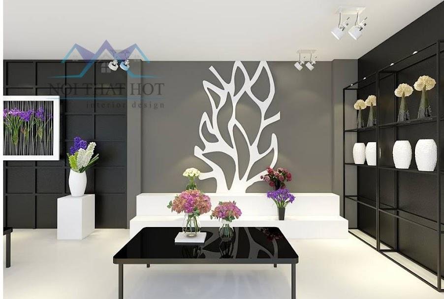 Thiết kế cửa hàng hoa tươi sáng tạo đầy phong cách