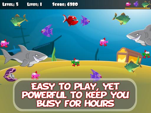 ud83dudc20 Hungry Piranha & Shark Fish screenshots 6