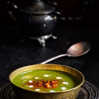 Palak Shorba / Spinach Soup