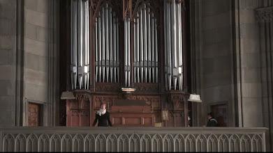 Photo: mimiko Elisabethenkirche - Lysianne Salzmann Orgel (05.01.11) 855