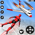 Real Speed Robot Hero Rescue Games