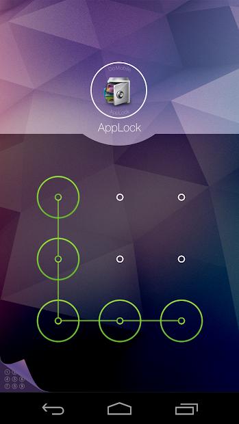 AppLock Theme Cube screenshot 1
