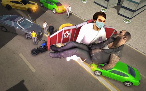 Jetpack Doctor Emergency Rescue 2019: Doctor Games  screenshots 1
