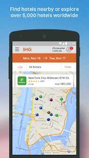 IHG®: Hotel Deals & Rewards- screenshot thumbnail
