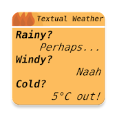 Textual Weather For KWGT