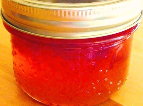 Pour into sterile jelly jars to within 1/2 inch of top. Seal tightly and...