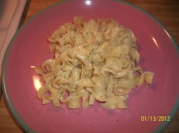 Parmesan Noodles Recipe