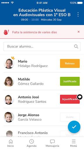 Versión de Séneca para smartphone y tabletas. screenshot 5