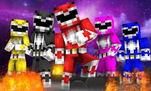 Addon Power Rangers for Minecraft PE cheat hacks