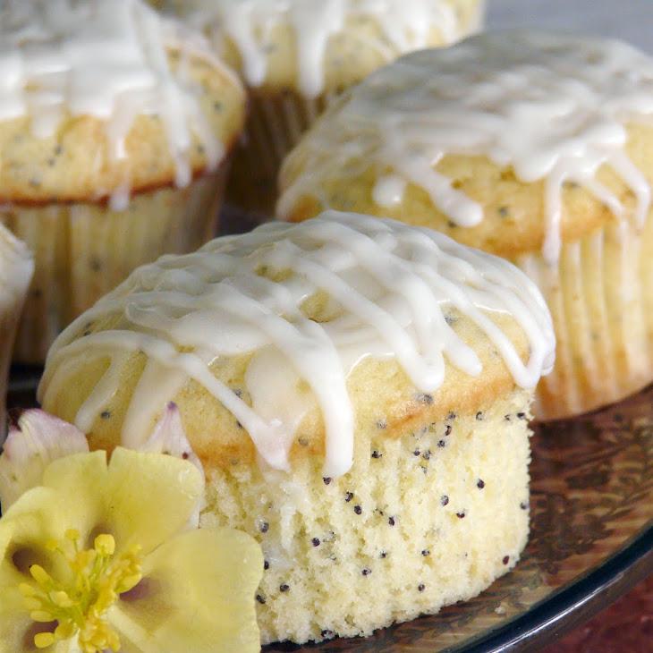 Glazed Lemon Poppy Seed Muffins Recipe | Yummly