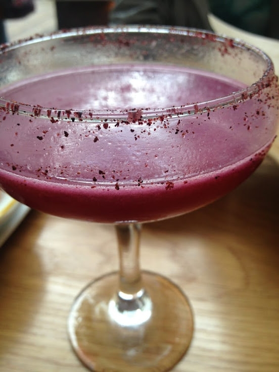 The Jack Satan cocktail.  Spicy, flowery, tart, sweet.  Photo: Stephanie S.