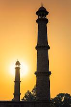 Photo: Taj Mahal at sunrise.