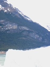 Photo: Waterfall over the glacier