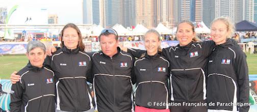 Photo: L'équipe de PAV féminine  @ Dubaï, WPC 2012