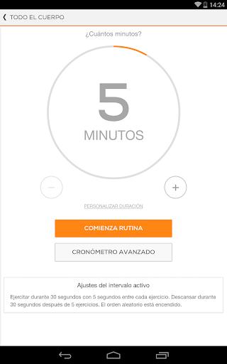 Sworkit Entrenador para Android