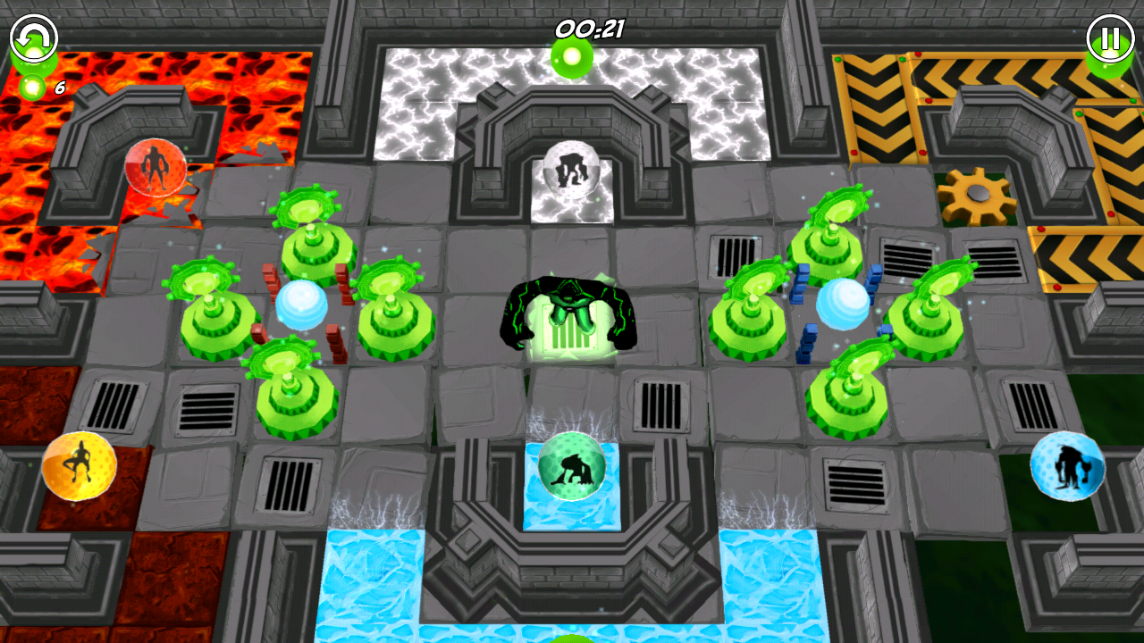 Ben 10 Game Generator 5D – Capture d'écran