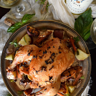 Brown Butter Summer Roast Chicken